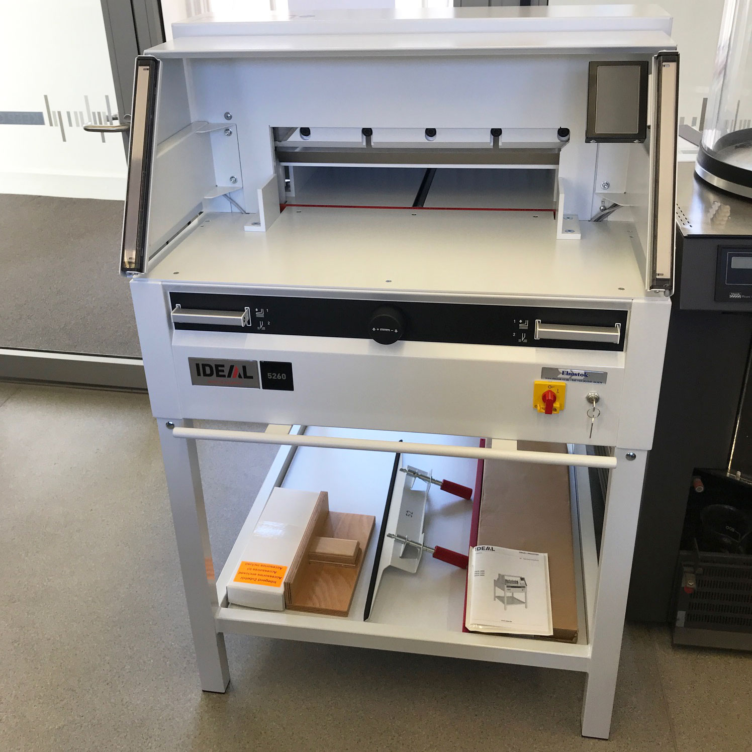 IDEAL 5260 Guillotine Installed At Manchester Central Library