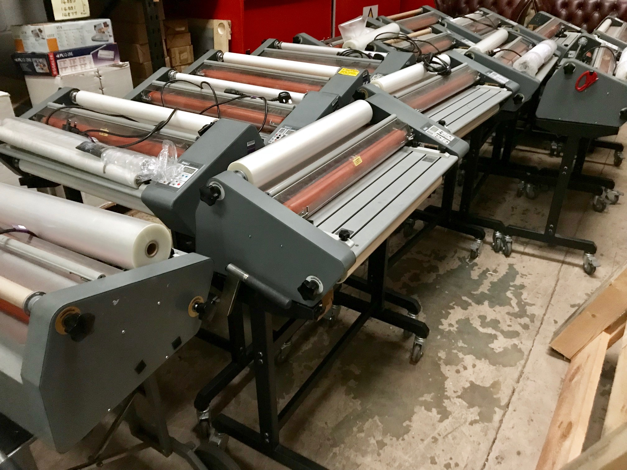 Quality A1 Linea DH650 Roll Laminators Now Available At Lowest Online Prices - Recovered From Ex-Stationery Chain