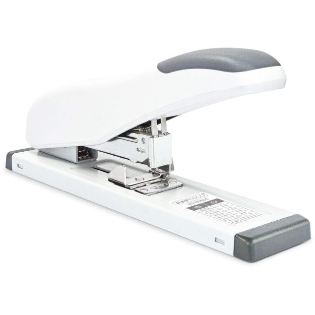Rapesco ECO HD-100 Heavy-Duty Stapler Soft White