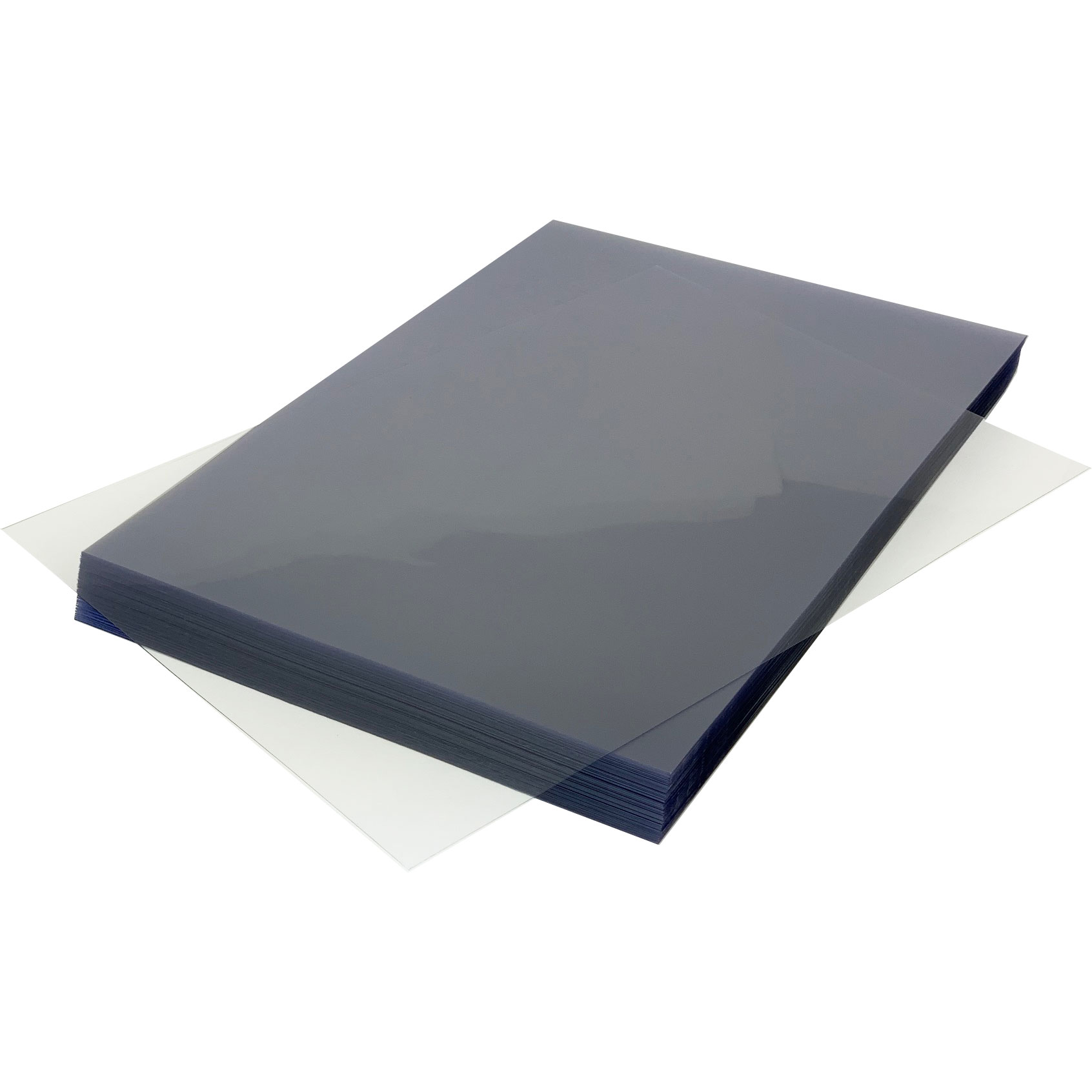 Clear PVC 180 Micron A4 Protective PPE Face-Shield Sheets (1000)