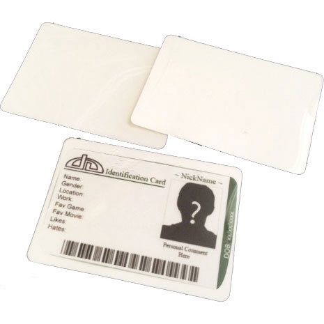 3-Part A7 Data Laminating Pouches (100)