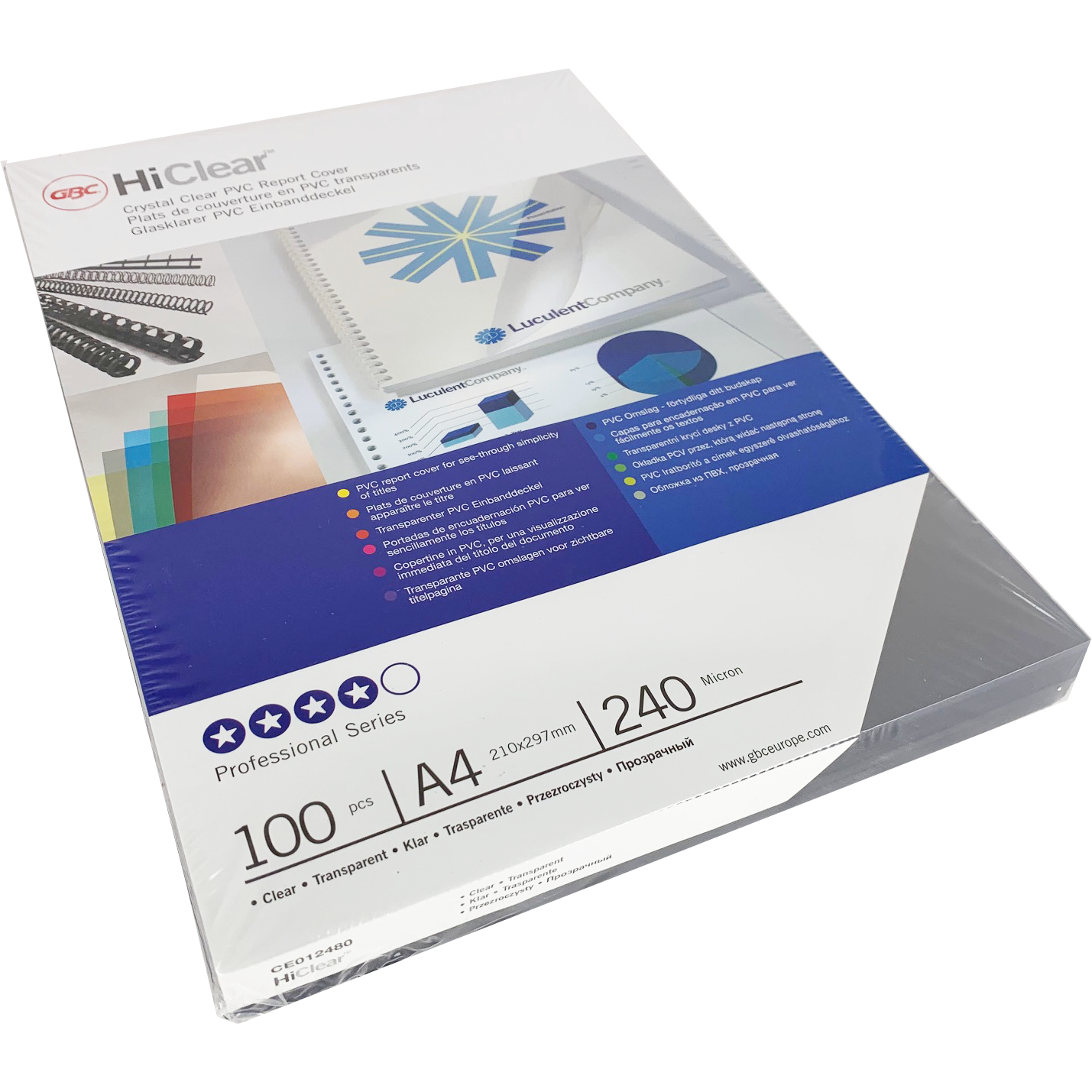 Branded HiClear PVC 240Micron PPE Clear Sheets Bulk Pack (1000)