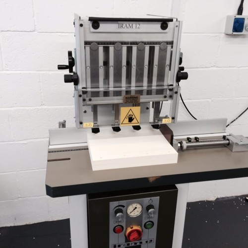 Pre-owned Iram-12 Morgana 4-Head Electric Paper Drill