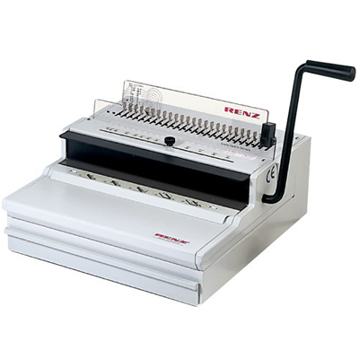 Pre-owned Renz ECO360 Comfort 2:1 Wire Binding Machine