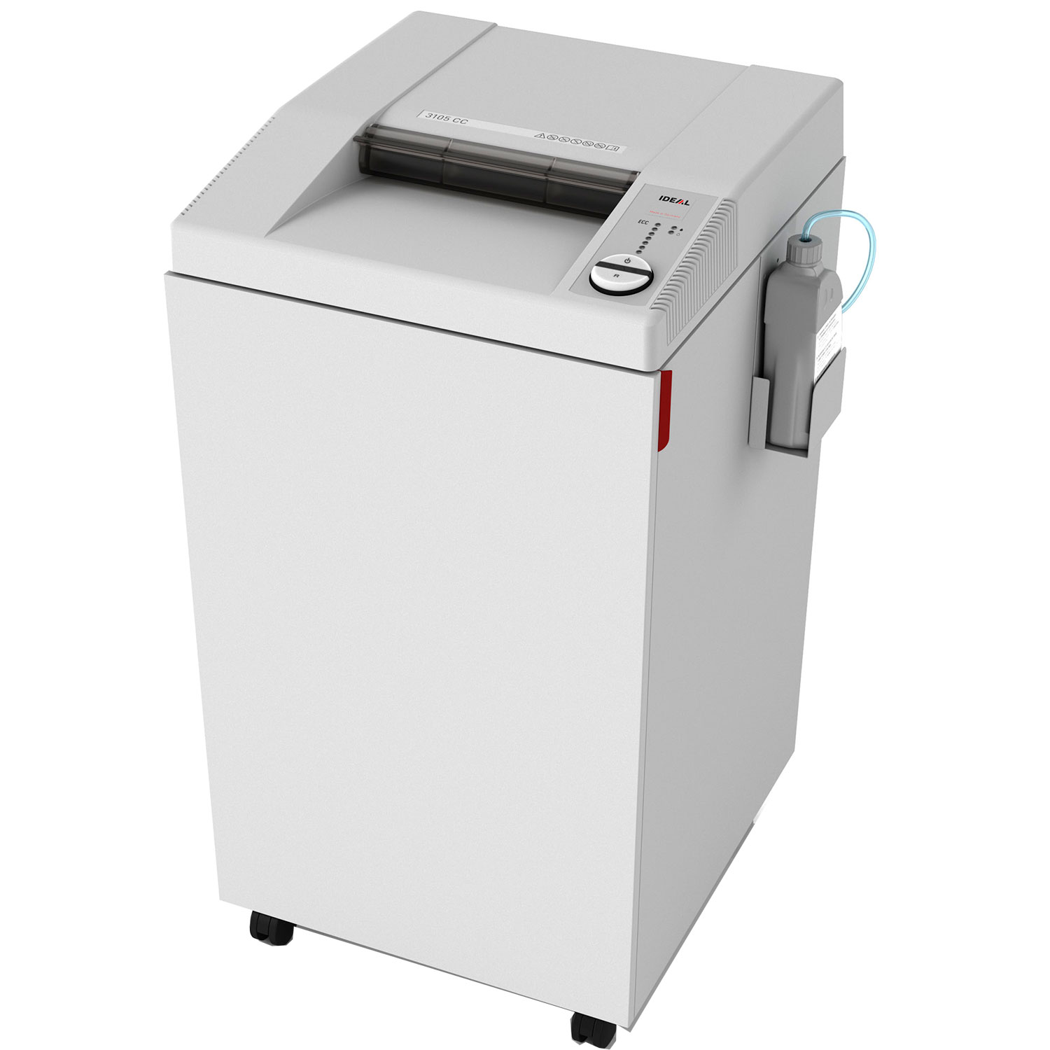IDEAL 3105 Super Micro Cut 0.8 x 5mm Paper Shredder