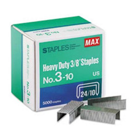 "MAX 3-10 Heavy Duty 3/8"" Staples (5000)"