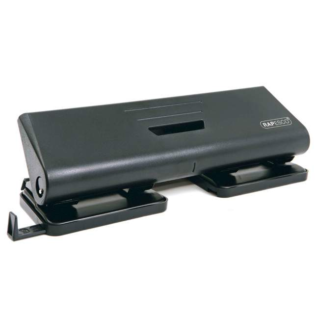 Rapesco 75-P 4-Hole Punch ABS