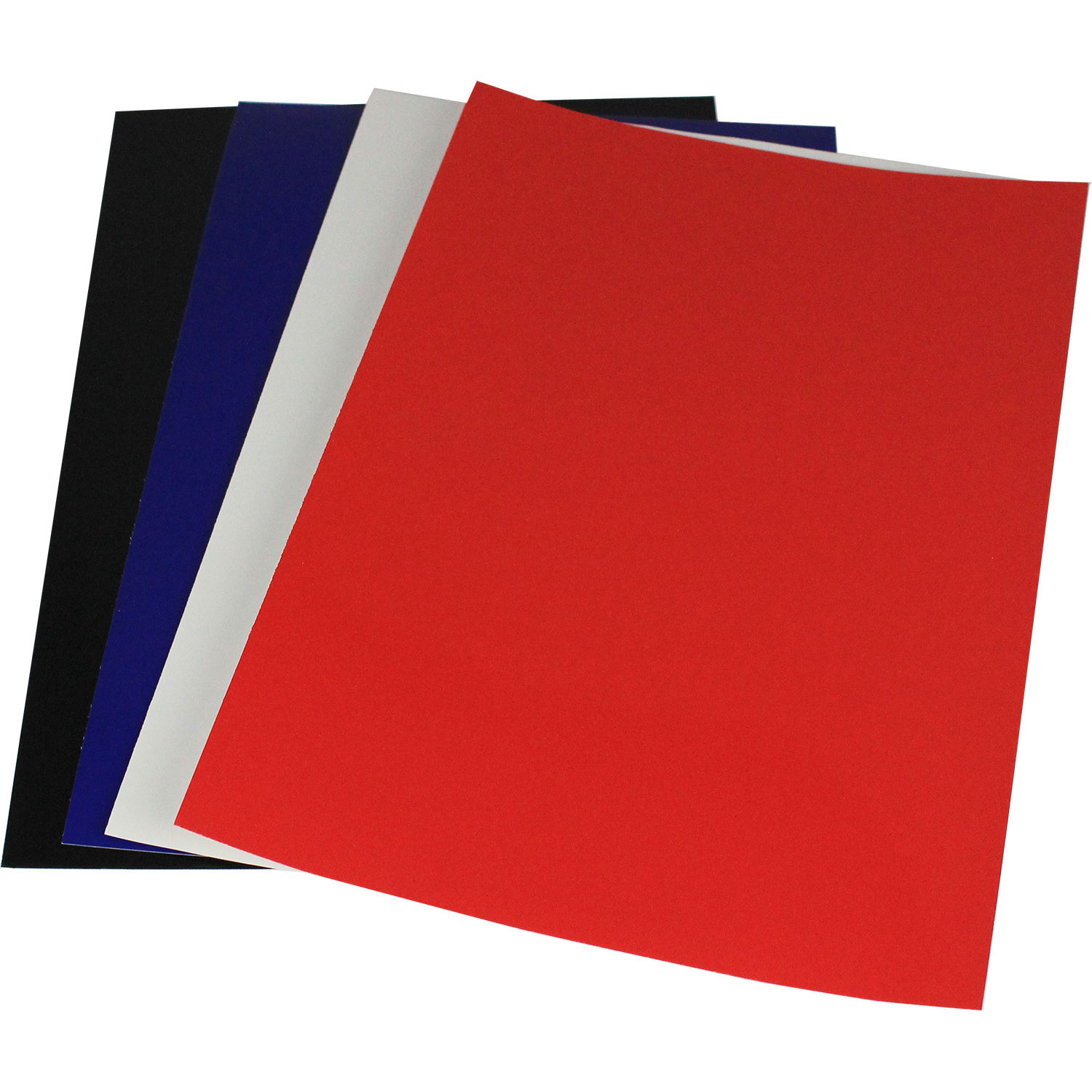 A3 White Gloss Chromolux Binding Covers (100)