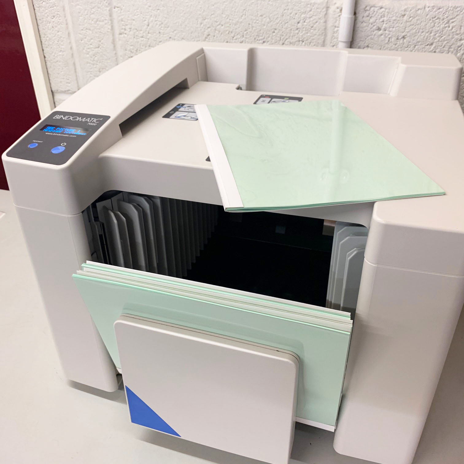 Like New Used Bindomatic 7000 Automated Thermal Binding Machine
