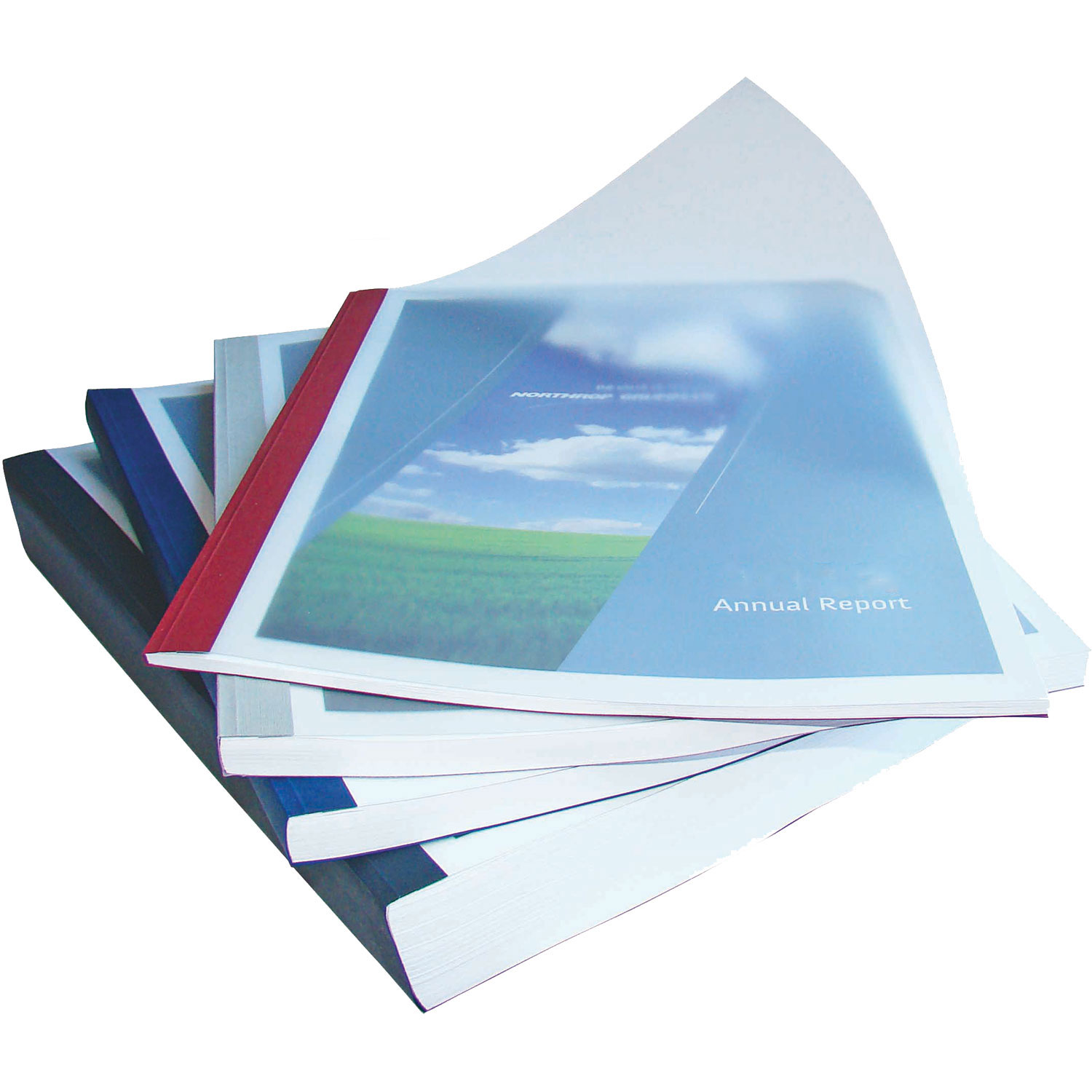 Bindomatic Aquarelle Black Thermal Binding Covers