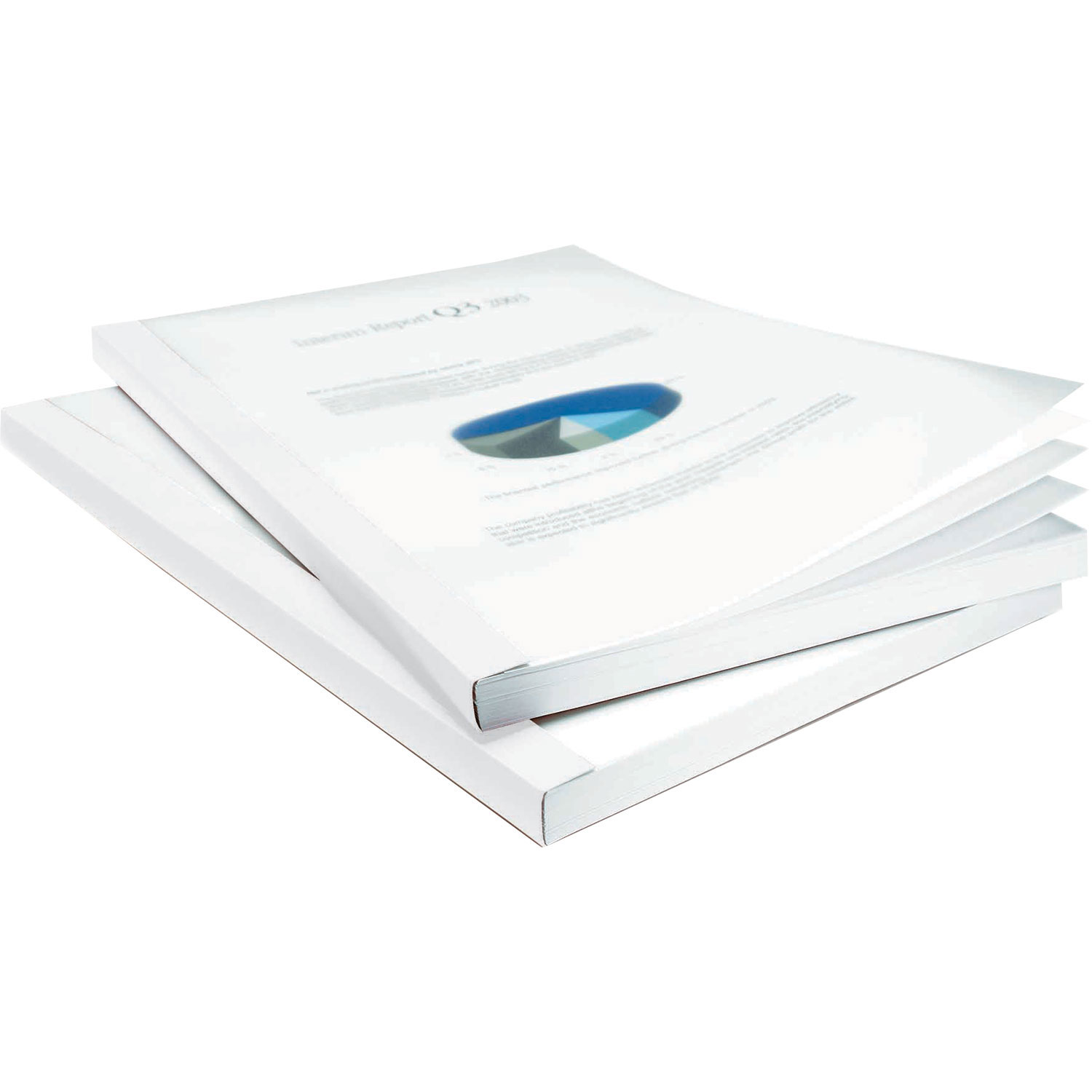 Bindomatic Classic White Thermal Binding Covers