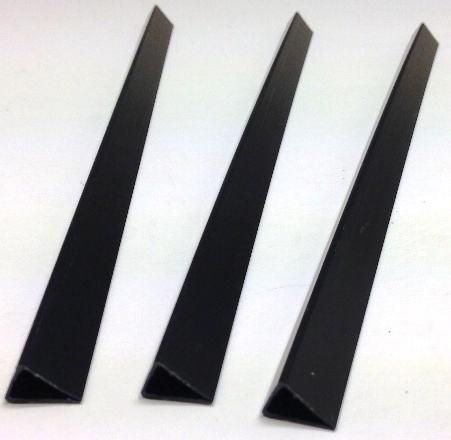 A4 Plastic 7mm Black Slide Binders (500)