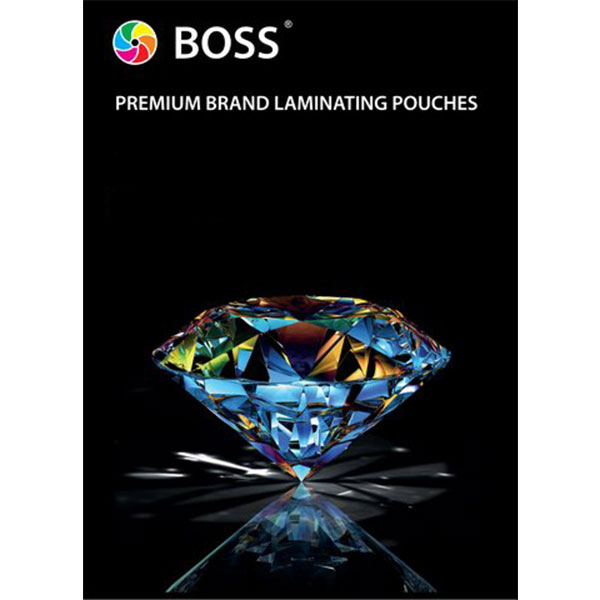 A4 Genuine BOSS Laminating Gloss Pouches 200 Micron