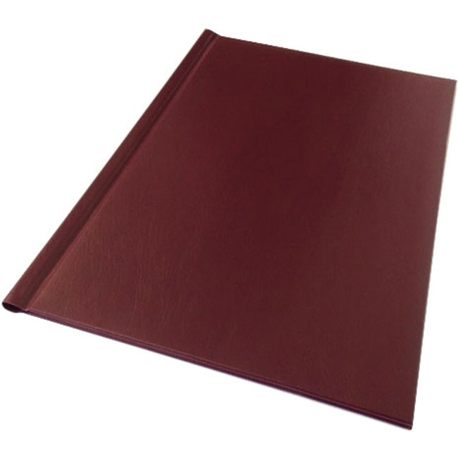 A4 Burgundy Padded Impressbind Covers (10)