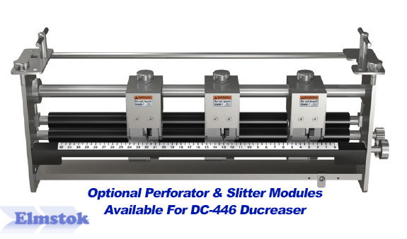 Perforating & Slitting Modules Available If Required For DC-446
