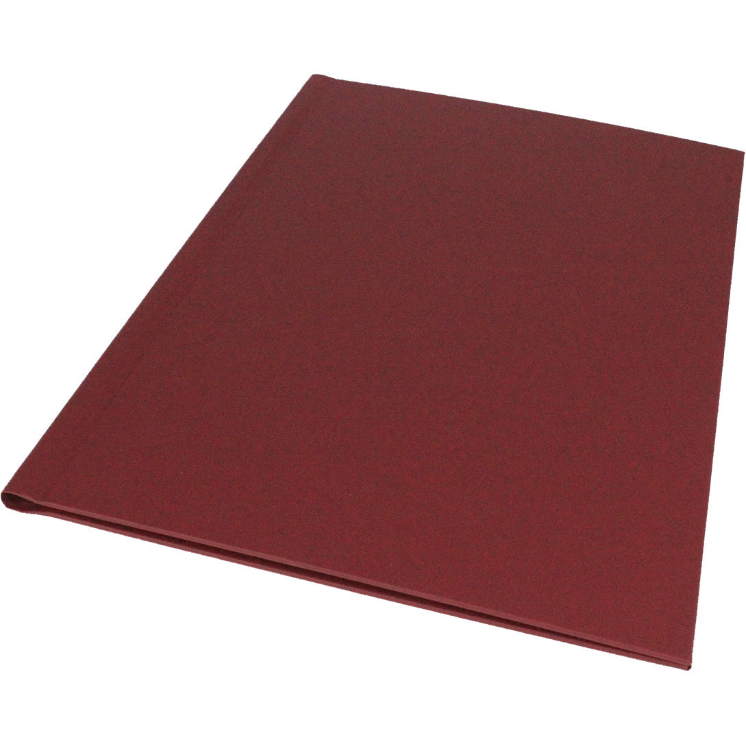 Impress/Channel Deluxe A4 Burgundy Binding Covers (10)