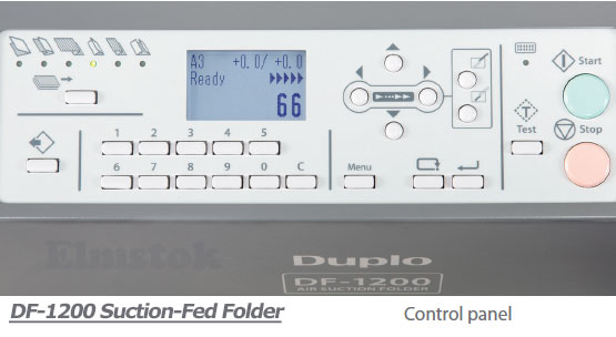 DF-1200 Easy-To-Use Control Panel