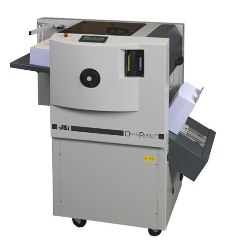 Automatic Docu-Punch Mk2 Punching Machine