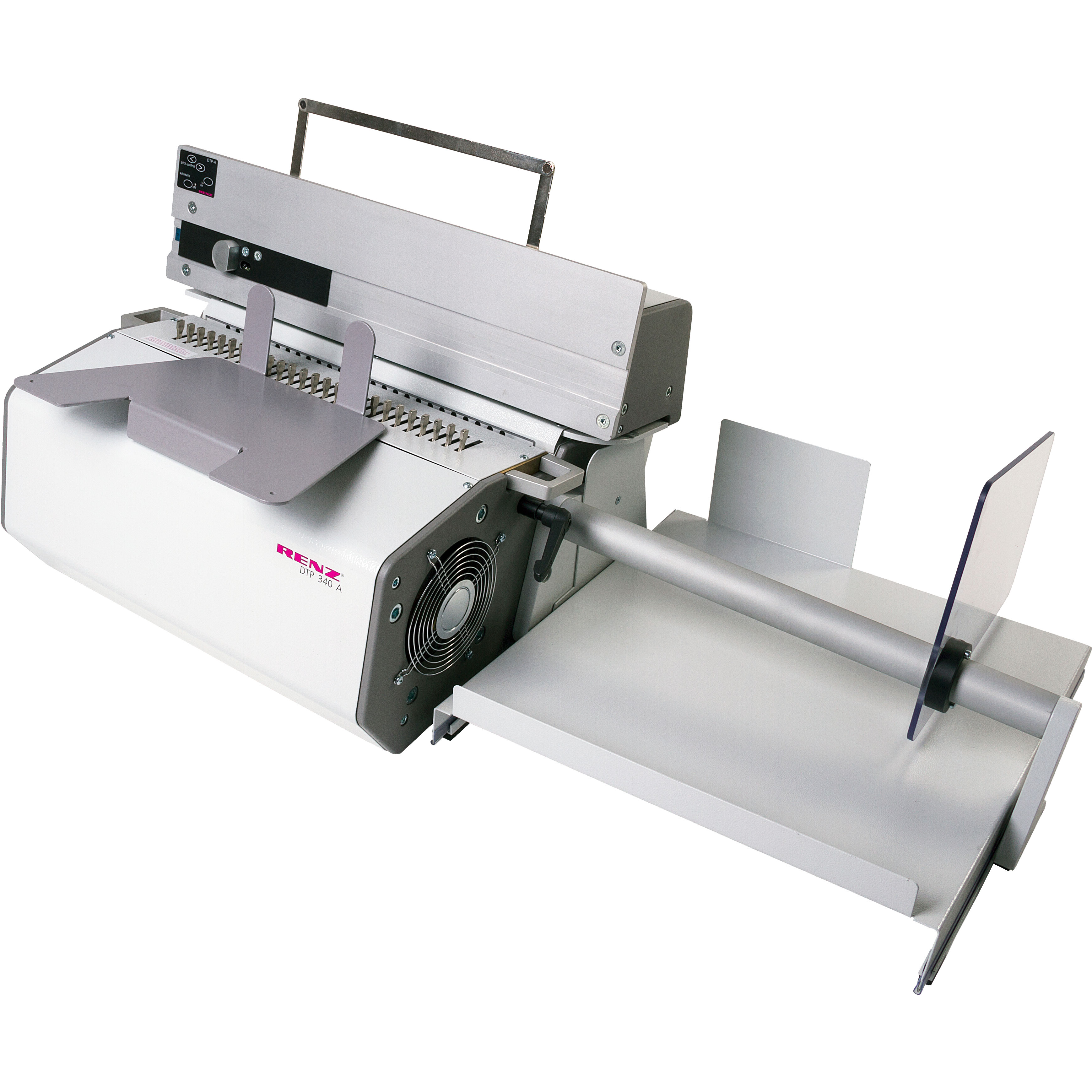 Renz DTP 340A Semi-Automatic Binding Punch Incl. Wire Tool