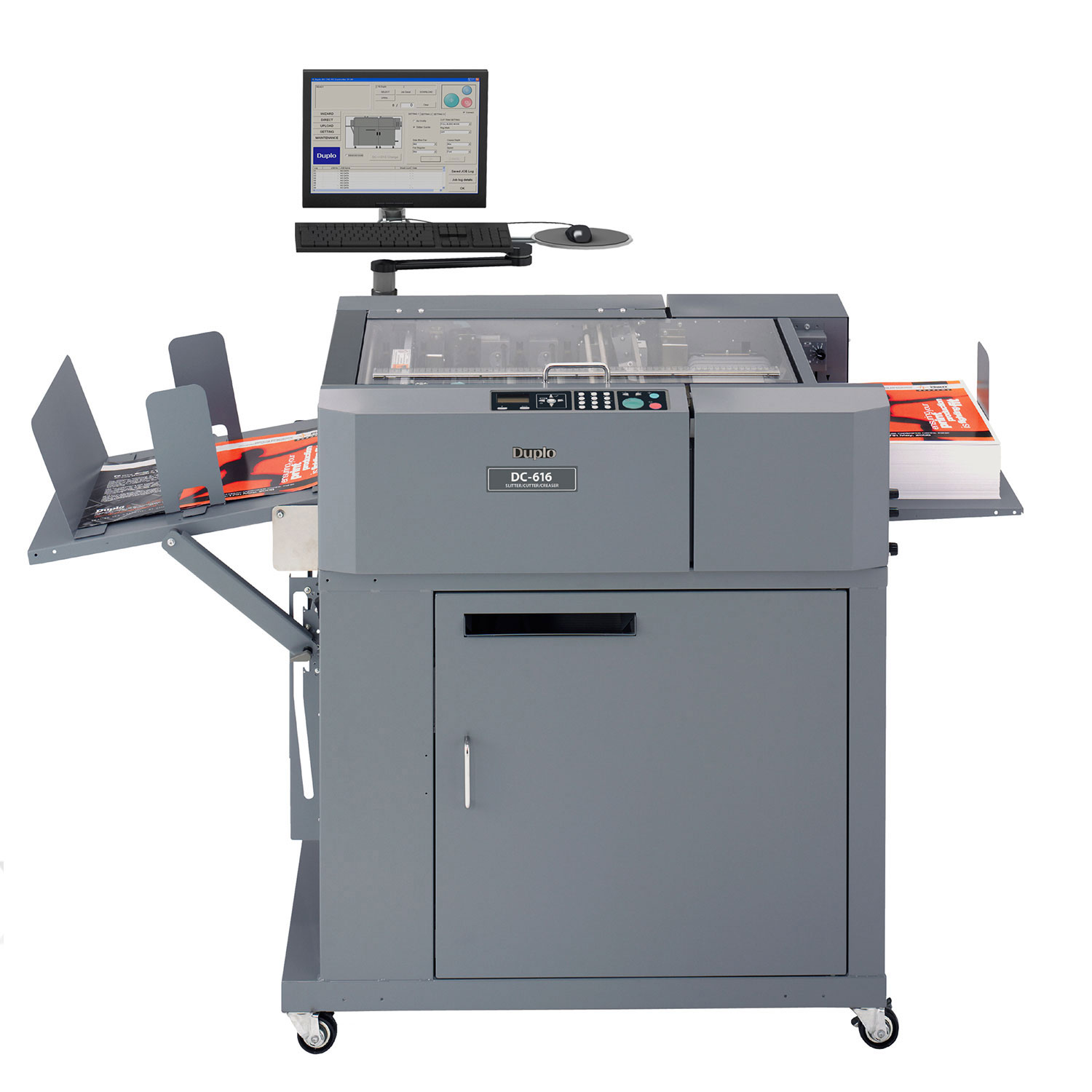 Duplo dc 616 pro multi finisher creaser cutter perforator duplo dc 616 pro creaser cutter slitter machine reheart Images