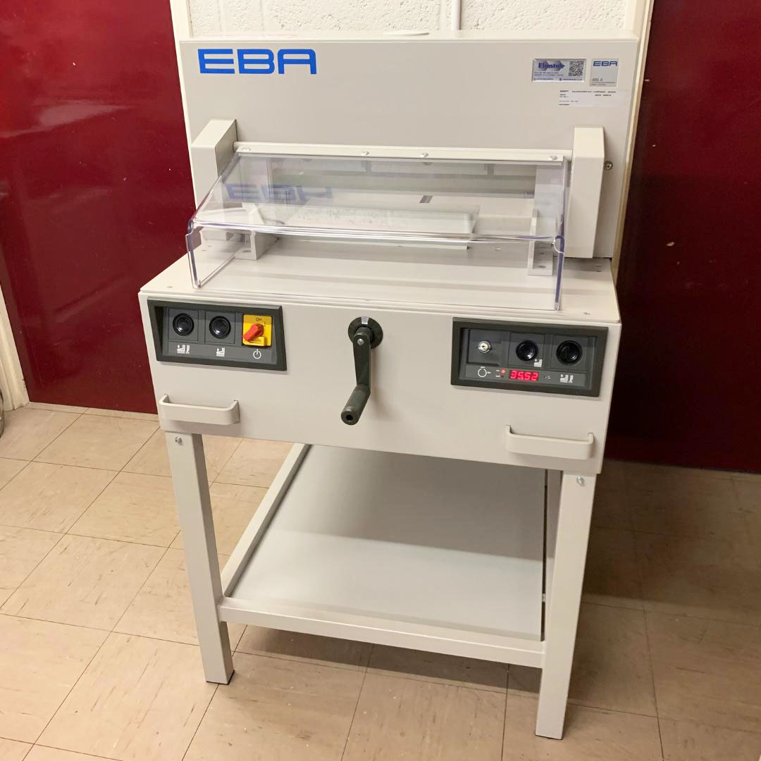 Pre-owned EBA 485A / 4850-95 Guillotine Incl. Digital Display