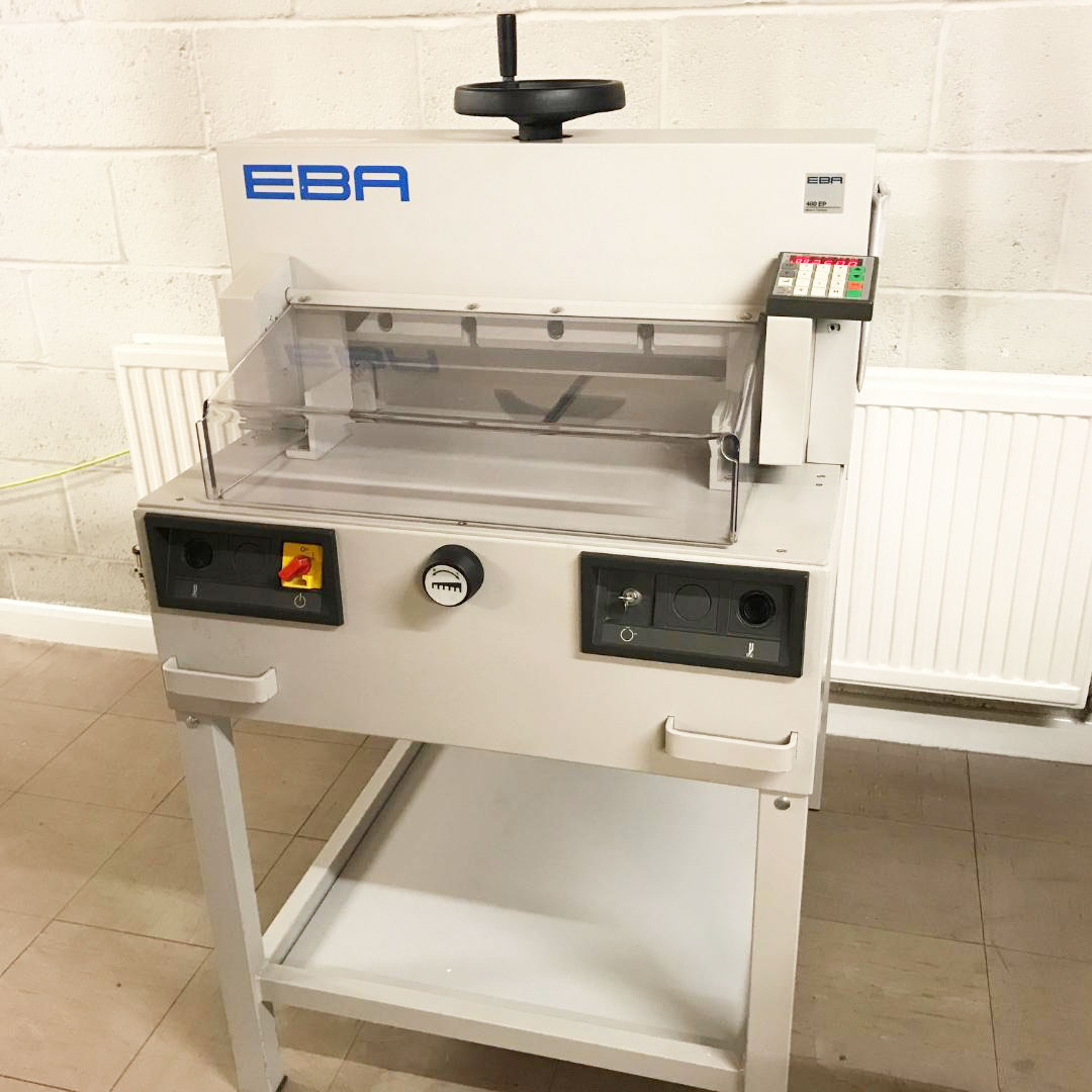 Pre-owned EBA 480EP / IDEAL 4810-95EP Guillotine