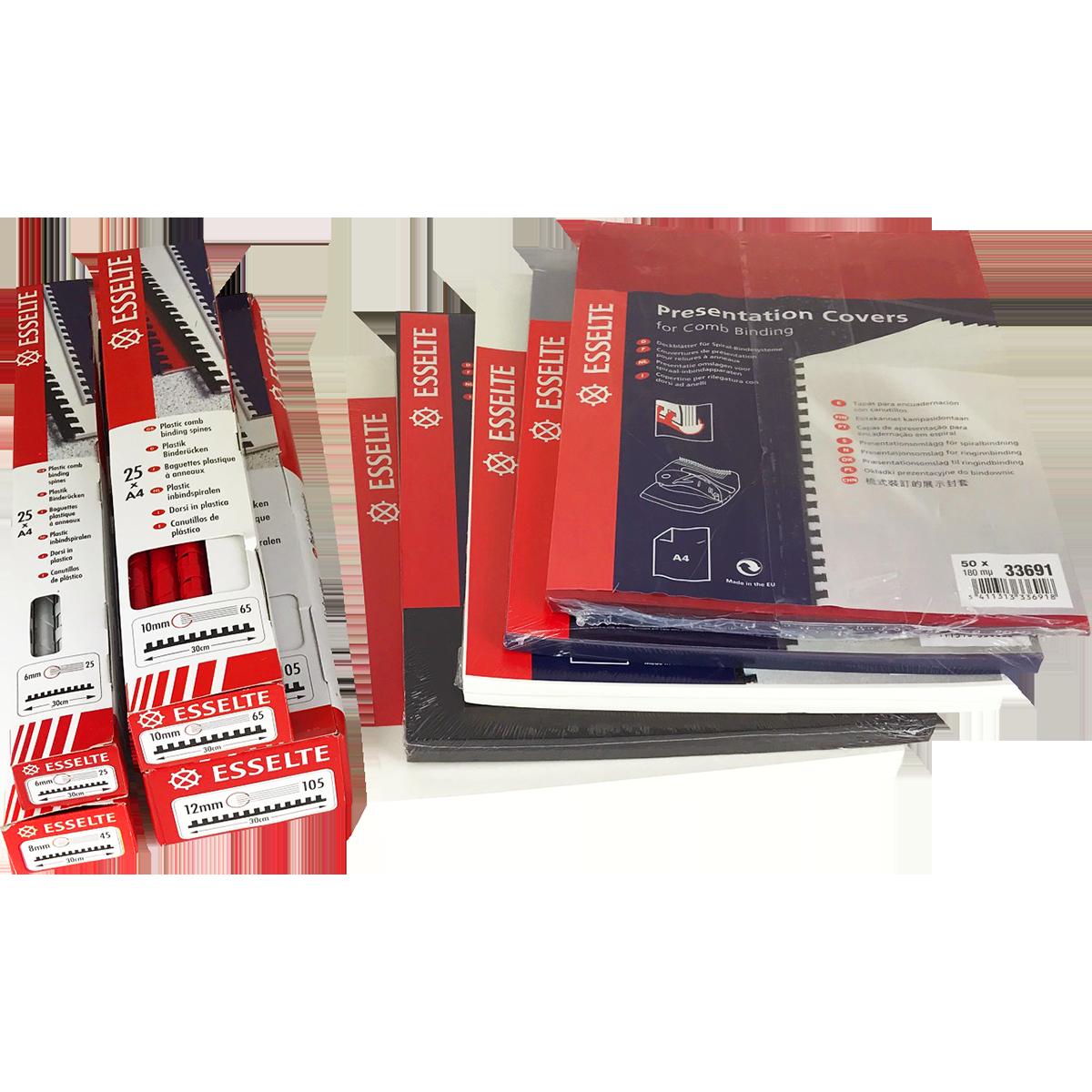 GBC / Ibico Kombo C250Pro Manual Plastic Comb Binding