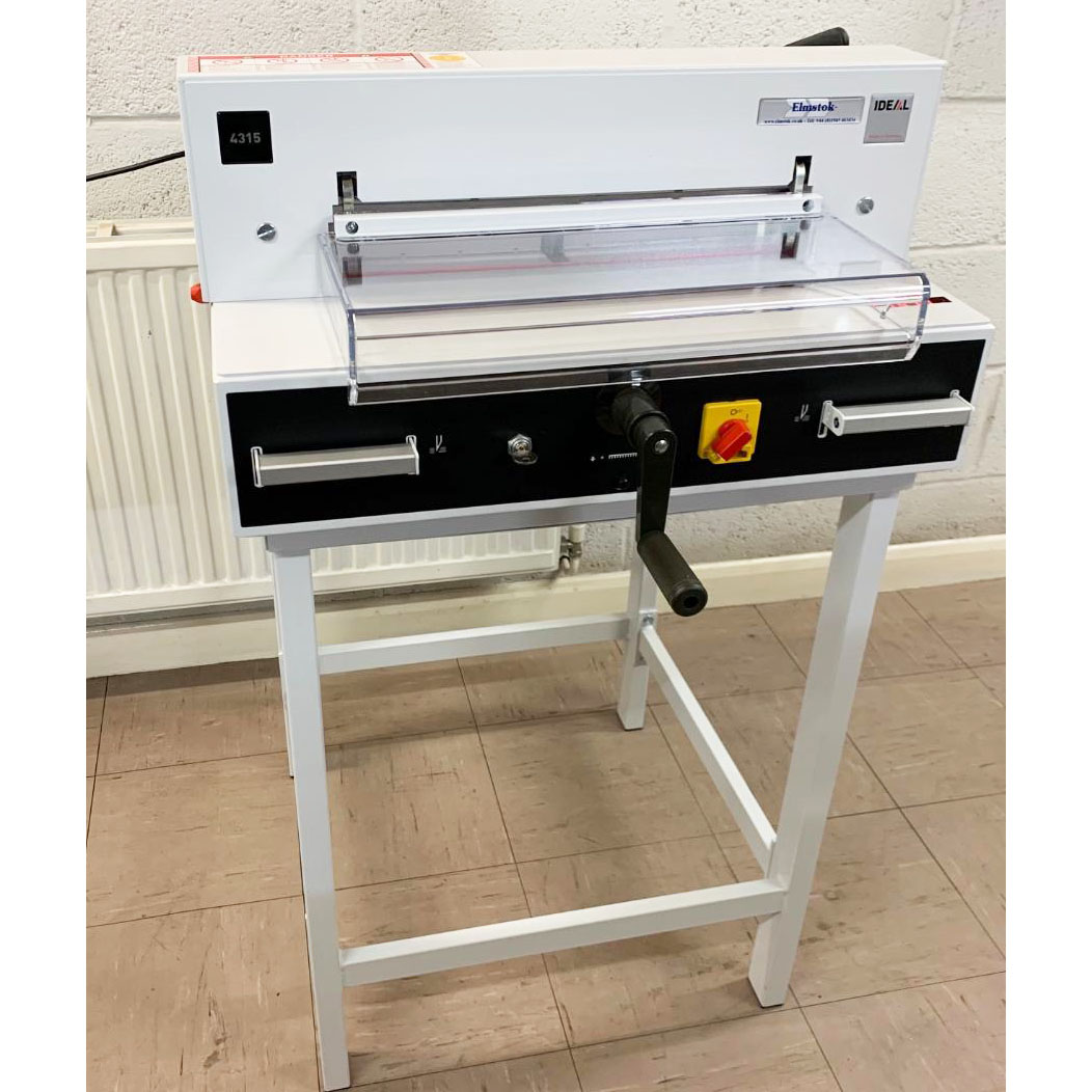 Ex-showroom IDEAL 4315 Desktop Guillotine - Like New