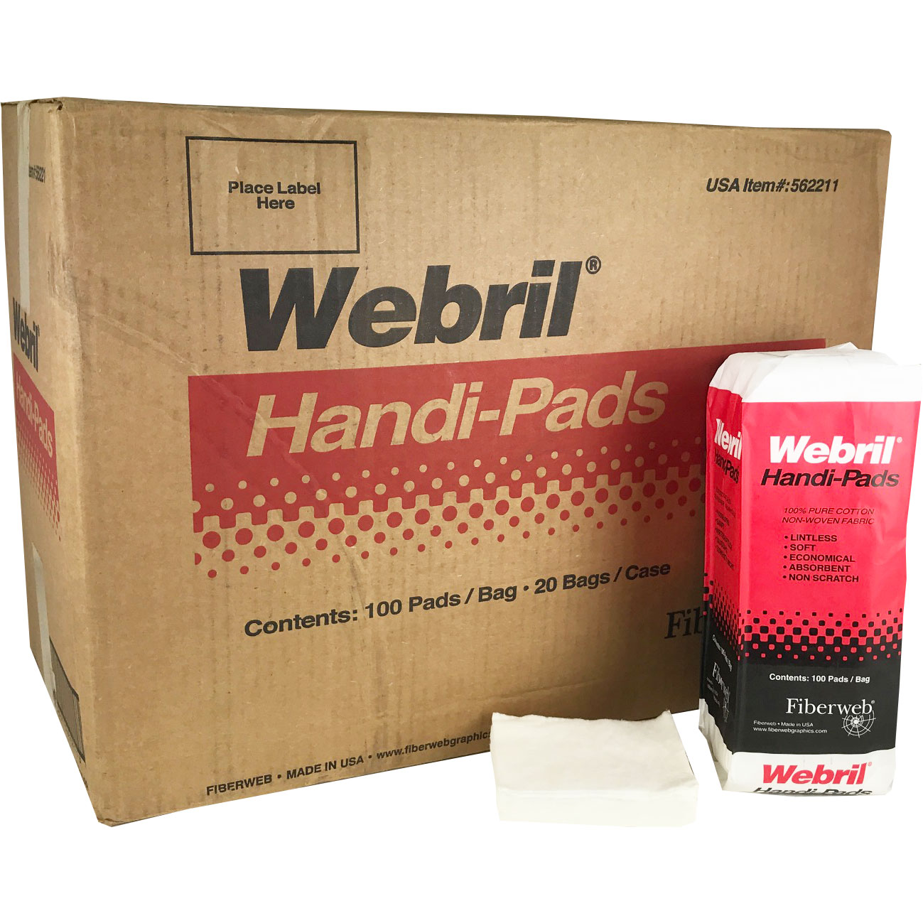Webril Cotton Handi-Pads (20 Packs)