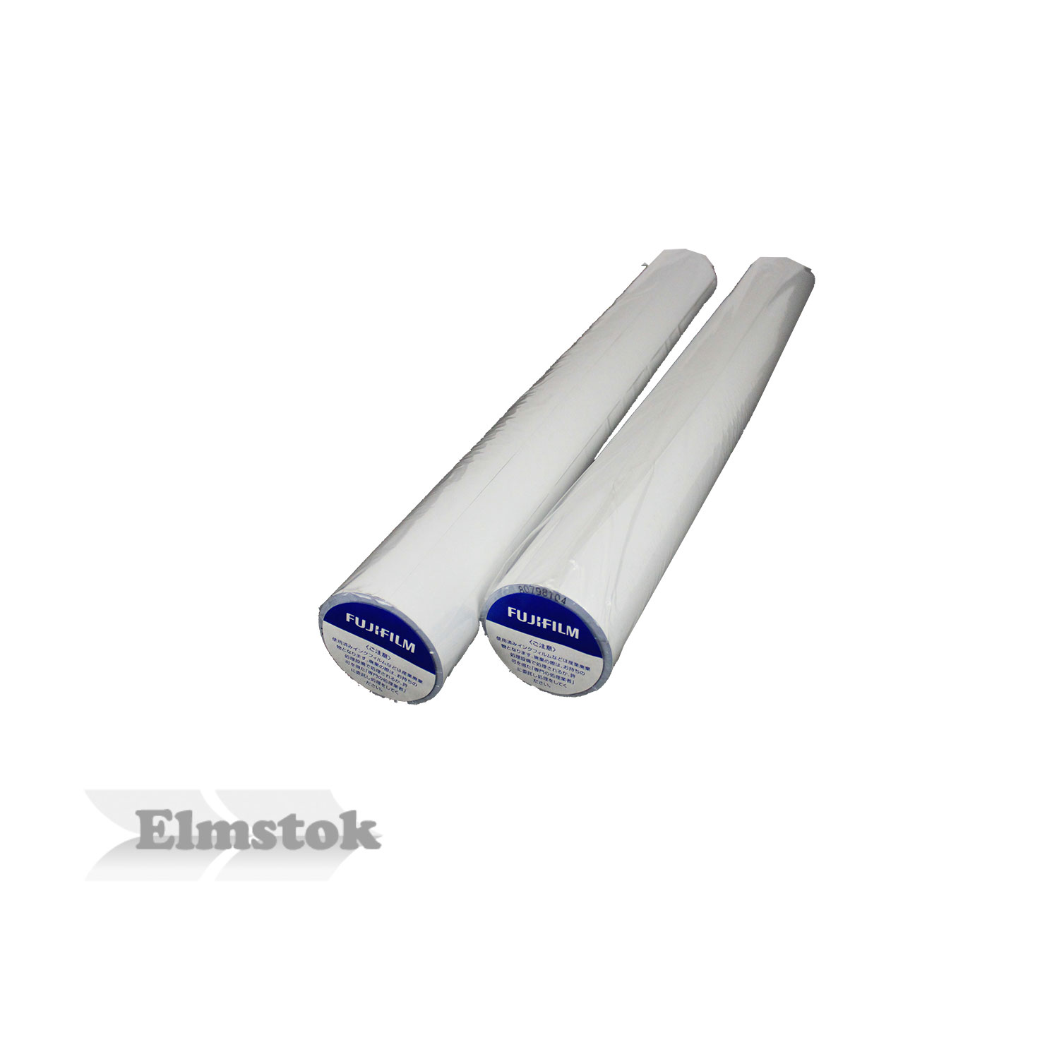 Fuji Blue On White TTP Thermal Poster Paper Rolls (2)