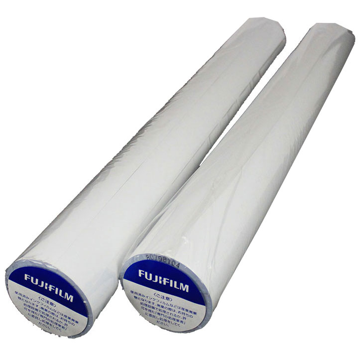 Fuji Maroon On White TTP Thermal Paper Rolls (2)