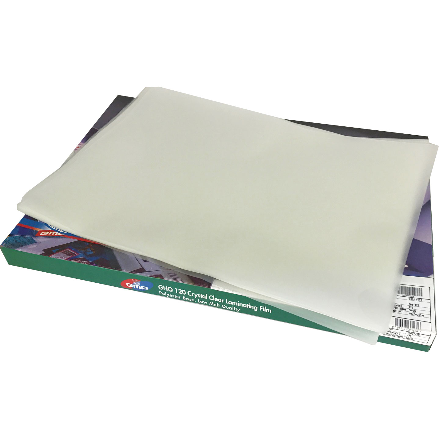 GMP GHQ-120 Crystal Gloss A3 Laminating Pouches 250Mic