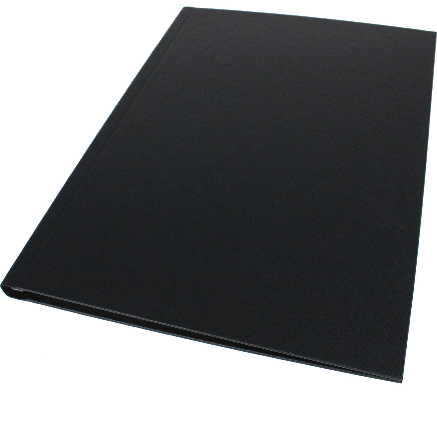 Impressbind A4 Hard Linen Binding Covers - Black 3.5mm - 28mm