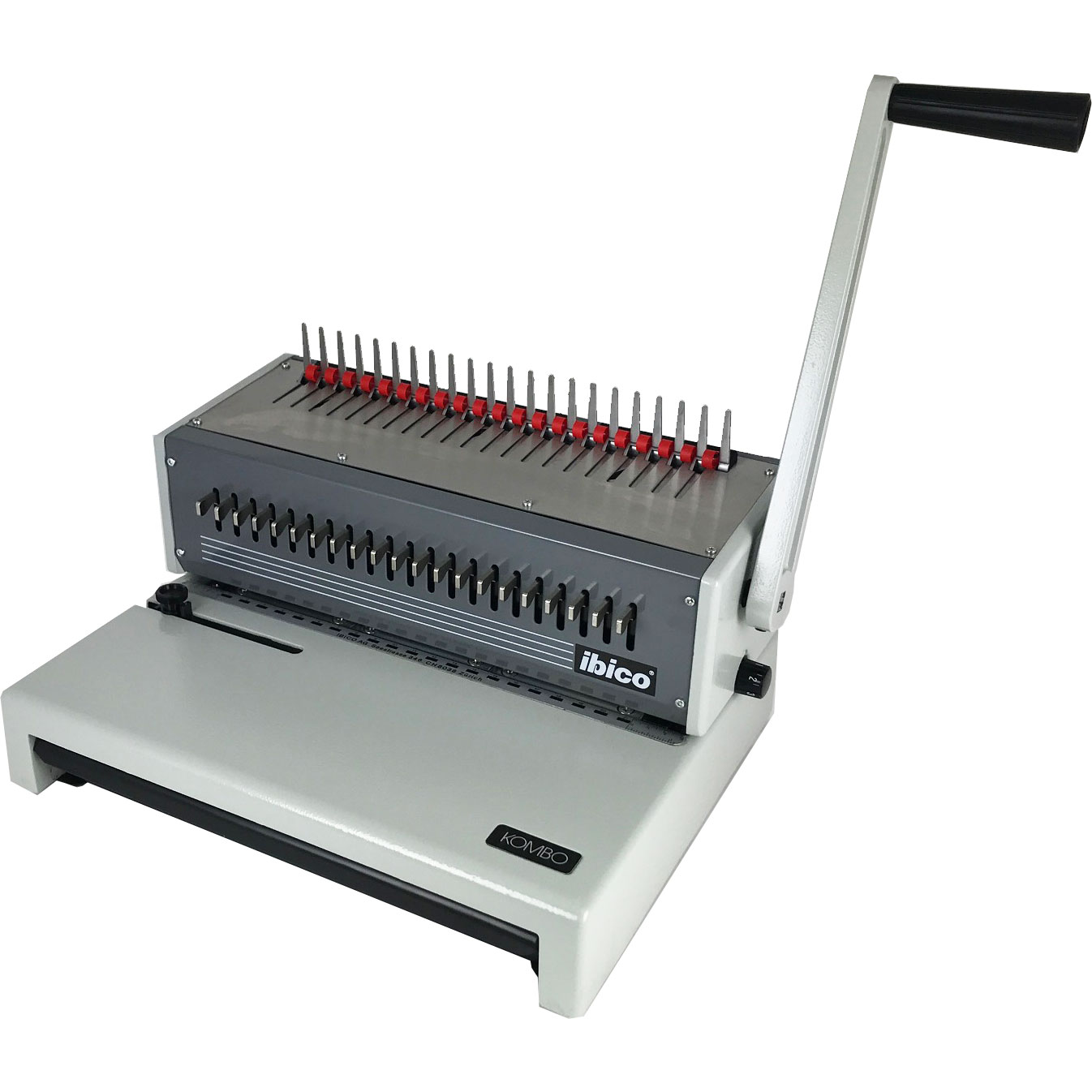 GBC / Ibico Kombo C250Pro/PB21 Manual Plastic-Comb Binding Machine
