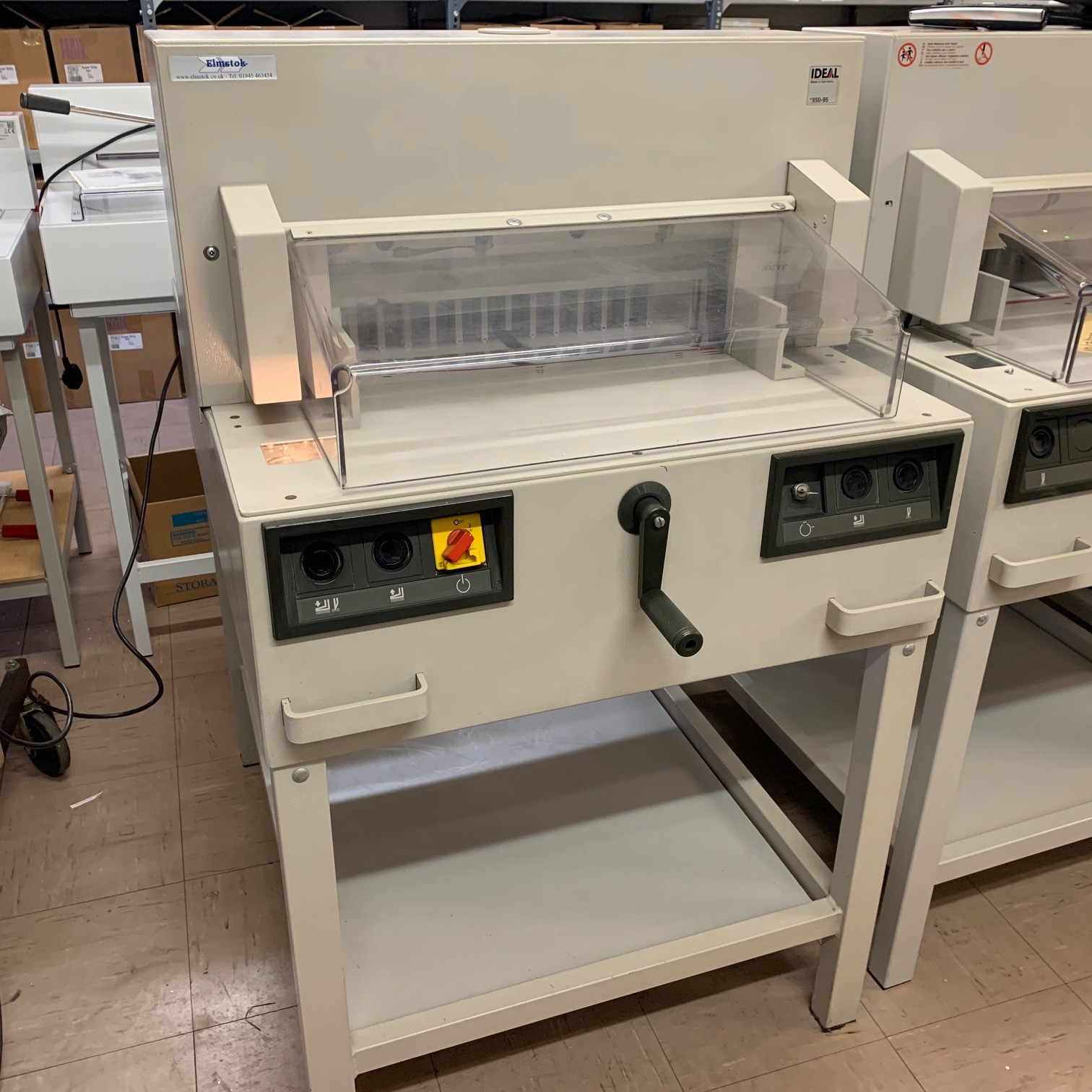 Pre-owned IDEAL 4850-95 Guillotine Incl. Auto. Clamp