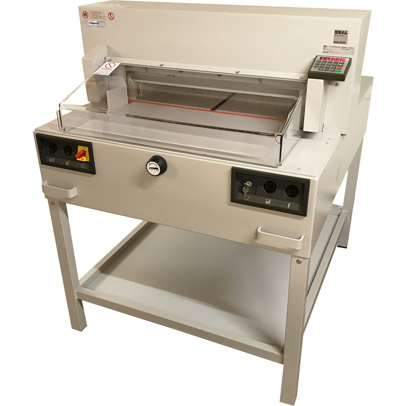 Pre-owned IDEAL 6550-95EP 9-Program Guillotine