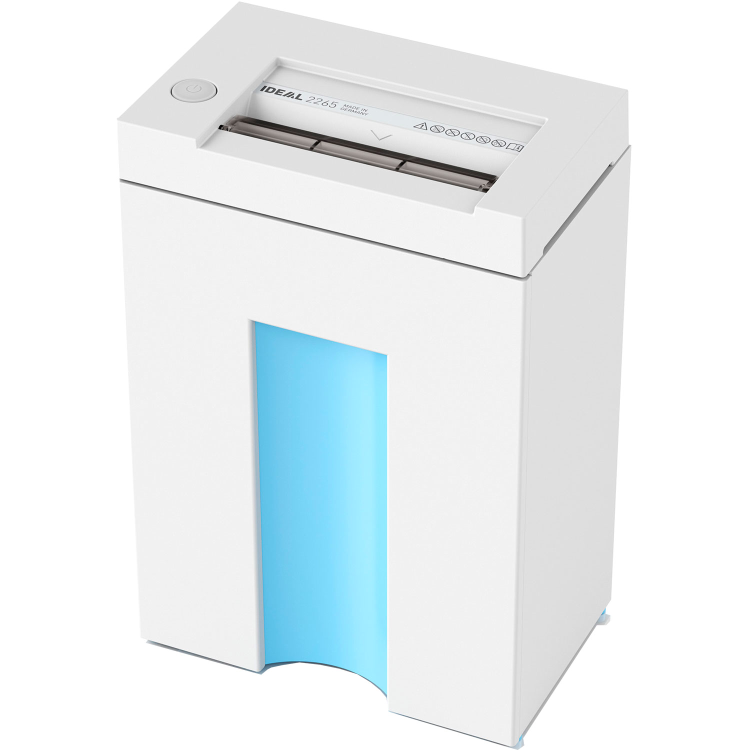 IDEAL 2265CC 2 x 15mm Cross Cut Deskside Shredder