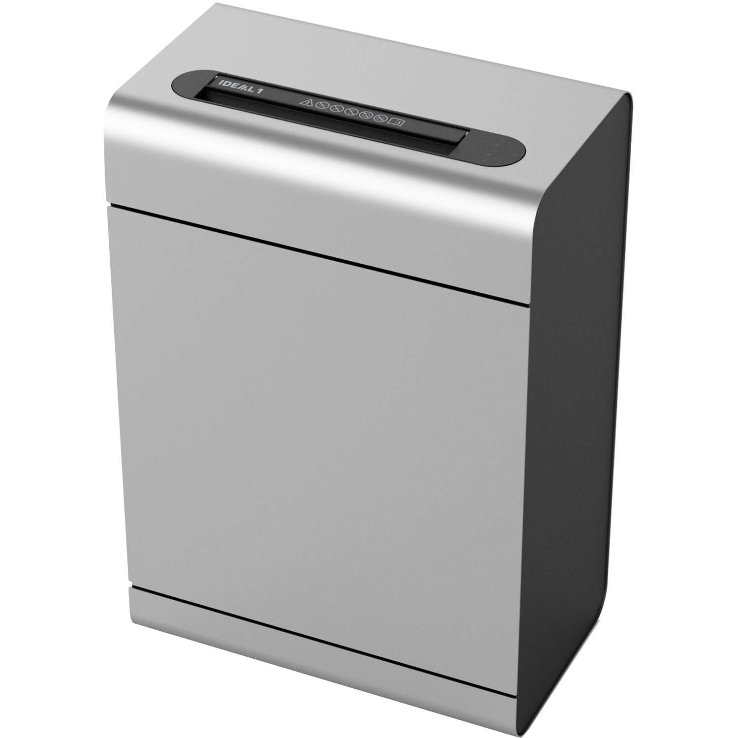 IDEAL 1 Exclusive 2 x 15mm Cross Cut Deskside Paper Shredder
