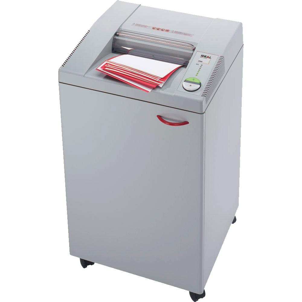 IDEAL 3104 Cross-Cut 2 x 15mm Paper Shredder