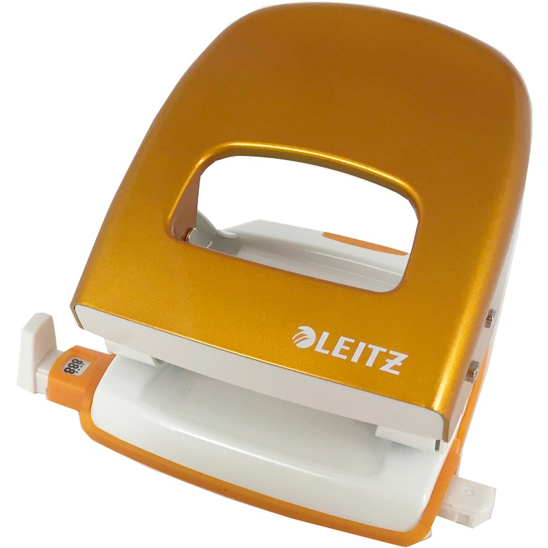 Leitz WOW NeXXT 30 Hole Punch Orange