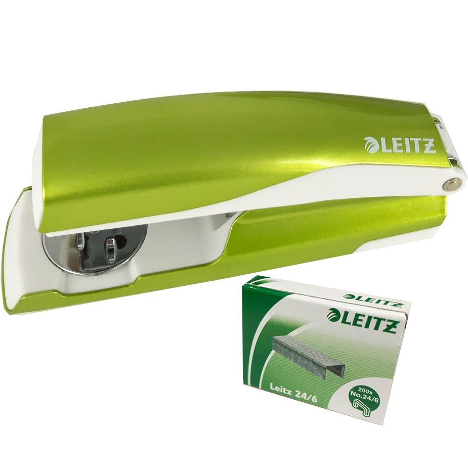 Leitz WOW NeXXT 30 Stapler Green