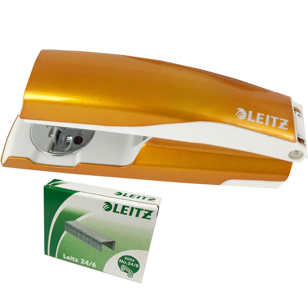 Leitz WOW NeXXT 30 Stapler Orange