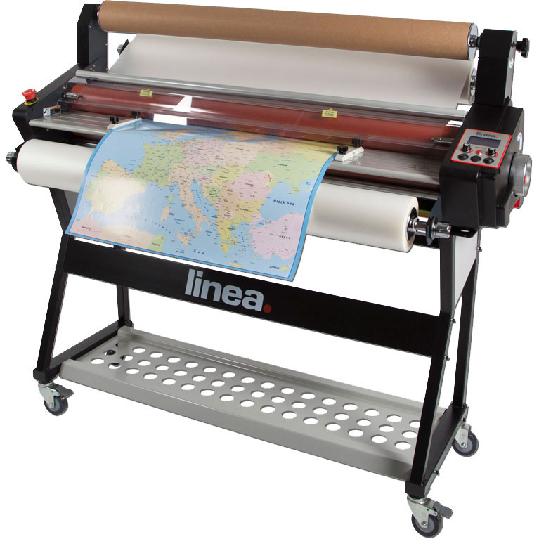 Linea DH1100 Roll-Fed A0 Hot-Seal Laminator