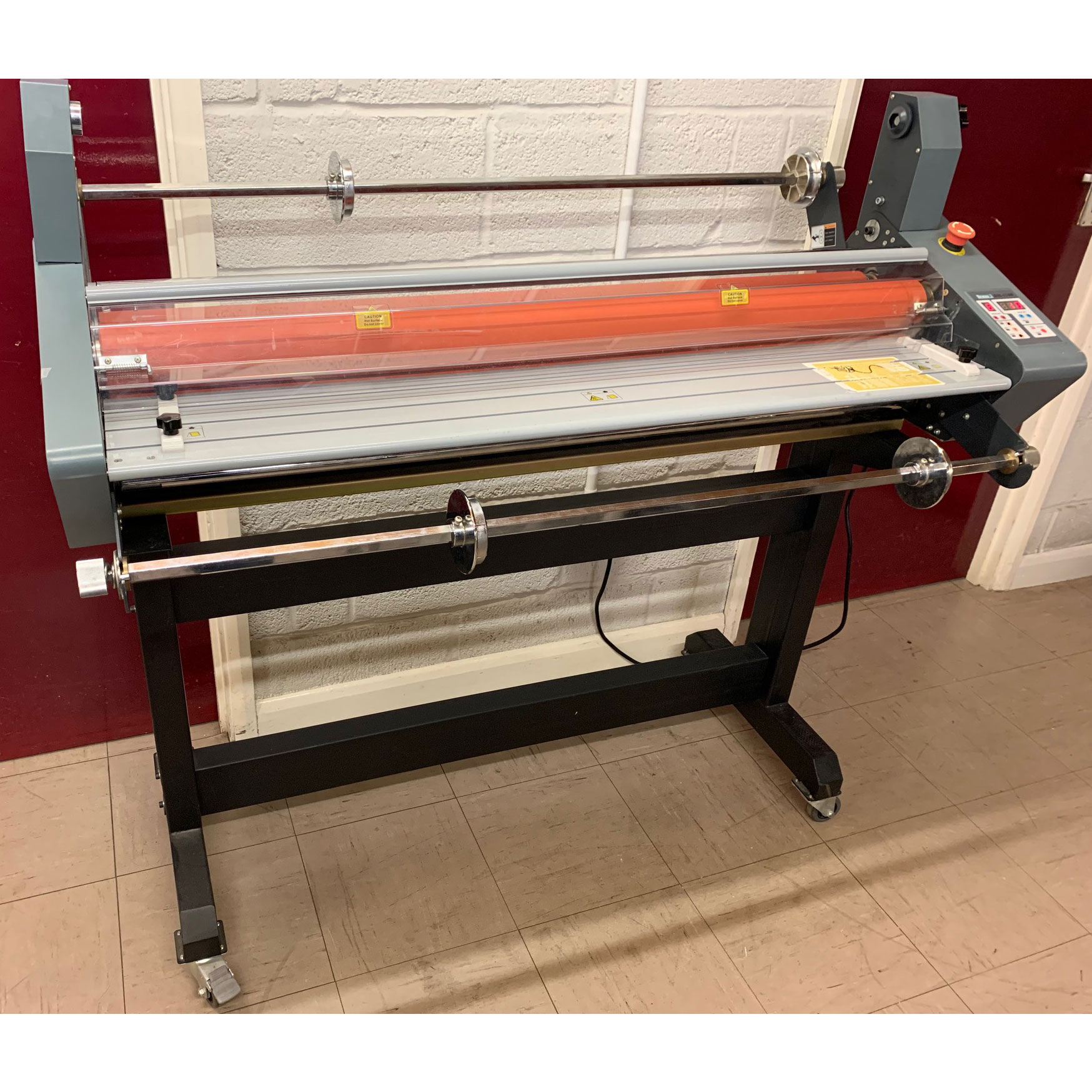 Pre-owned Linea DH1100 A0 Hot-Seal Roll Laminator Encapsulator