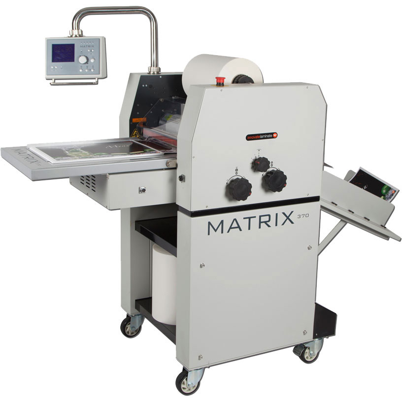 Matrix MX-370 Single-sided Roll Laminator