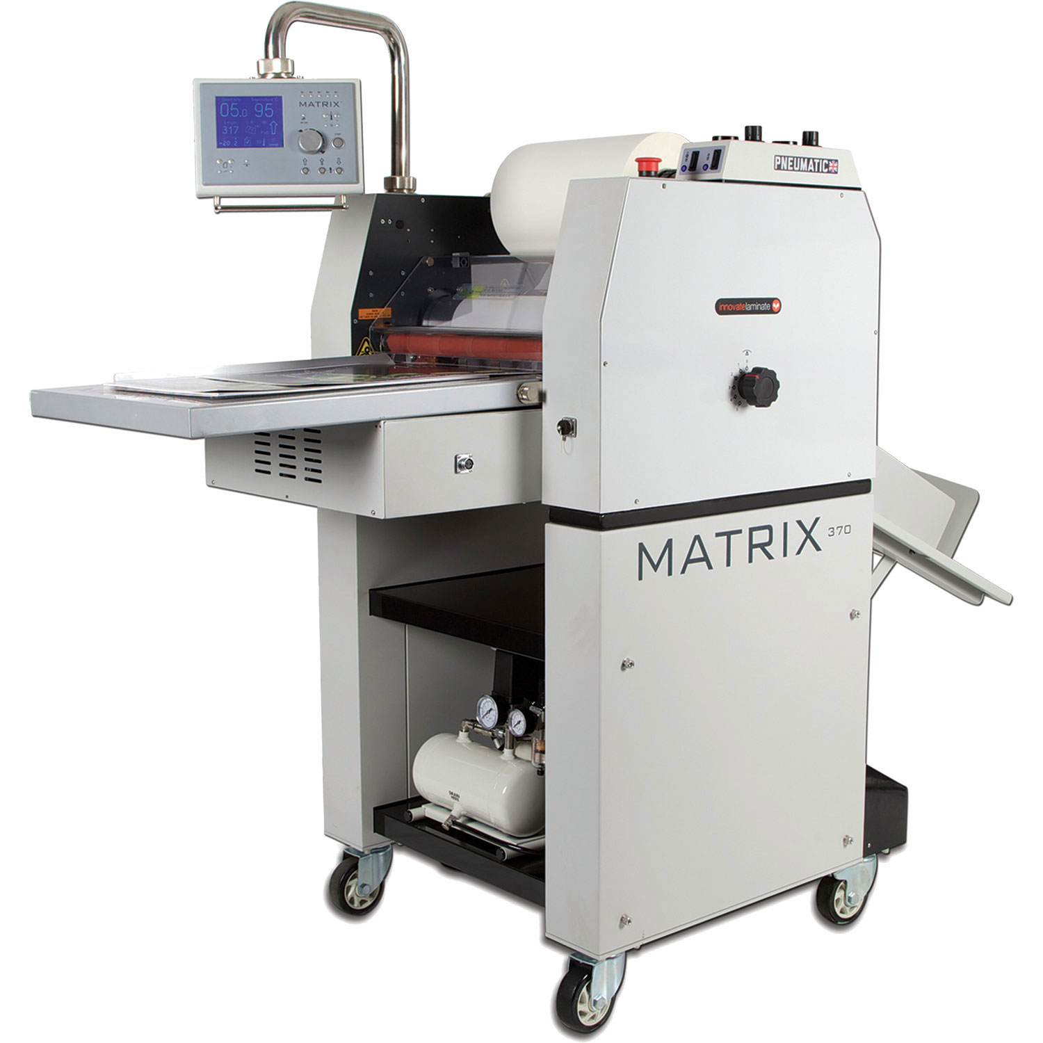 Matrix MX-370P Pneumatic Single-side Roll Laminator