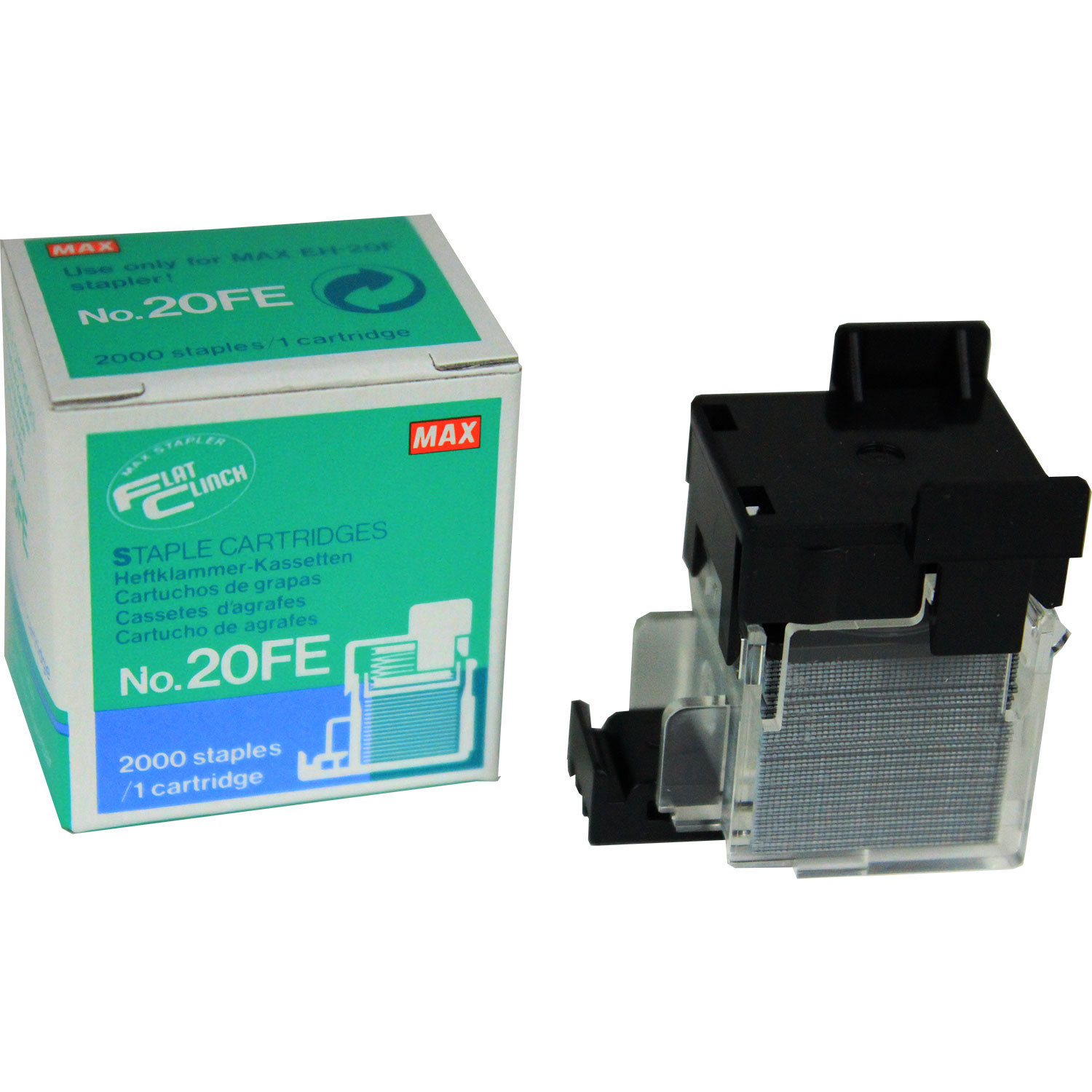 MAX 20FE Staple Refill Cartridge (Single)