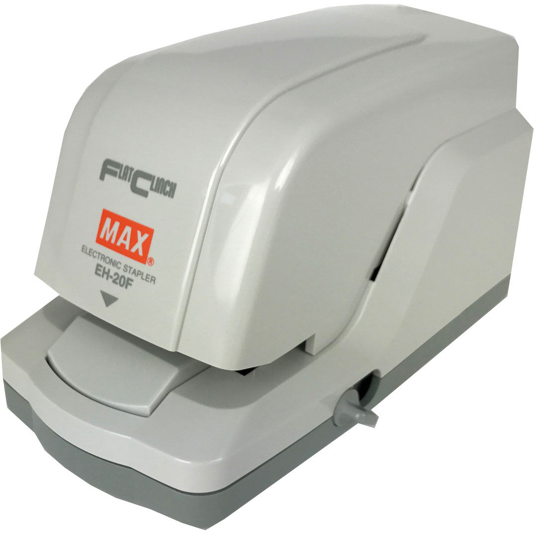 MAX EH-20F Electric Flat-Clinch Stapler