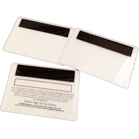2-Part Security Obscuration Barcode Laminating Pouches