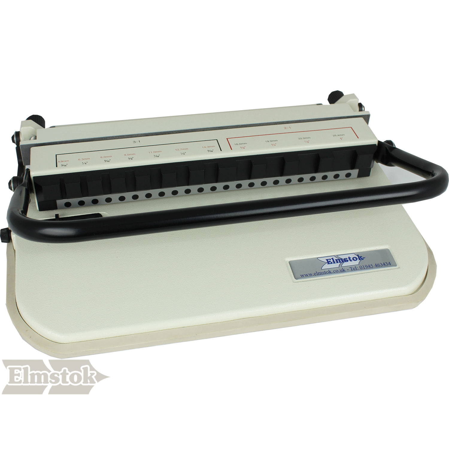 ELMPRO PB23-M 2:1 A4/A5 Wire Binding Machine